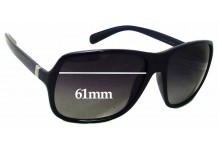 Sunglass Fix Sunglass Replacement Lenses for Prada SPR07N - 61mm Wide