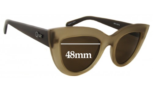 Quay Kitti Replacement Lenses 48mm by The Sunglass Fix