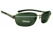 Sunglass Fix Sunglass Replacement Lenses for Ray Ban RB3430 - 59mm Wide