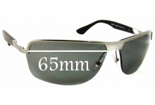 Sunglass Fix Sunglass Replacement Lenses for Ray Ban RB3510 - 65mm Wide