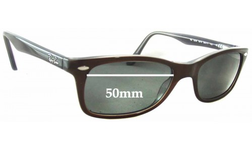 Sunglass Fix Sunglass Replacement Lenses for Ray Ban RB5228 - 50mm wide