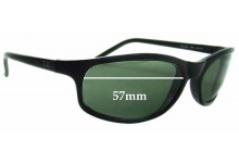 Sunglass Fix Sunglass Replacement Lenses for Ray Ban RB2030 - 57mm Wide