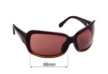 Sunglass Fix Sunglass Replacement Lenses for Maui Jim MJ201 Kai - 68mm Wide