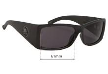 Sunglass Fix Sunglass Replacement Lenses for Metal Mulisha Empire 2 - 61mm Wide