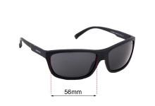 Sunglass Fix Sunglass Replacement Lenses for Arnette Shoredich AN4255 - 56mm Wide
