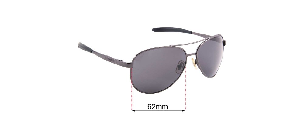 Sunglass Fix Sunglass Replacement Lenses for Ray Ban RB8327 - 62mm Wide