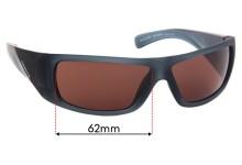 Sunglass Fix Sunglass Replacement Lenses for Arnette Neuralyzer AN4286 - 62mm Wide