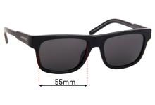 Sunglass Fix Sunglass Replacement Lenses for Arnette Post Malone AN4279 - 55mm Wide