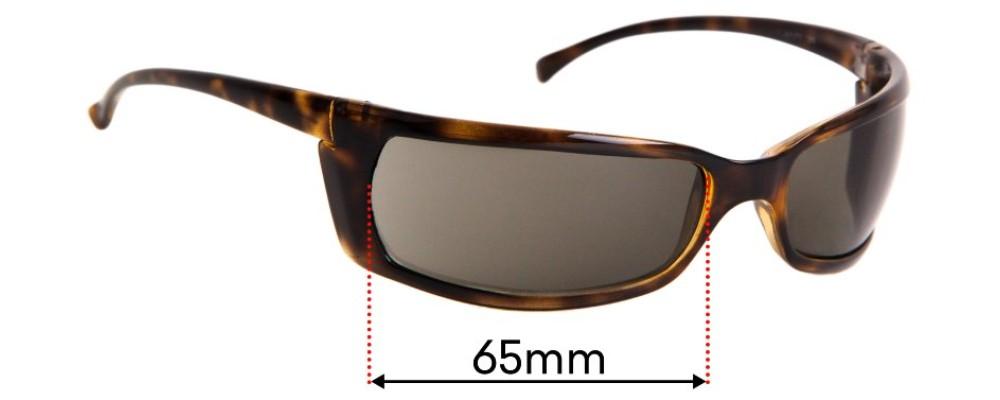 Sunglass Fix Replacement Lenses for Arnette Slide AN4007 32mm Tall  - 65mm Wide