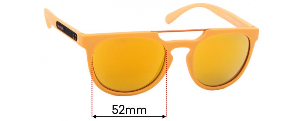 Sunglass Fix Replacement Lenses for Arnette Woodward 4237 - 52mm Wide