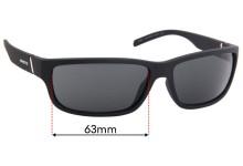 Sunglass Fix Sunglass Replacement Lenses for Arnette Zoro AN4271 - 63mm Wide