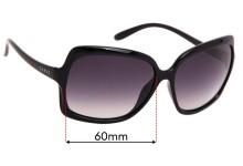 Sunglass Fix Sunglass Replacement Lenses for Carve Grace - 60mm Wide