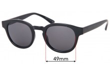 Sunglass Fix Sunglass Replacement Lenses for Childe Errol - 49mm Wide
