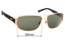 Sunglass Fix Sunglass Replacement Lenses for Chopard SCH 905 - 63mm Wide
