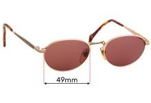 Sunglass Fix Sunglass Replacement Lenses for Dakota Smith 1061 Oklahoma - 49mm Wide