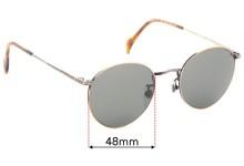 Sunglass Fix Sunglass Replacement Lenses for Dakota Smith Santa Fe Vintage - 48mm Wide