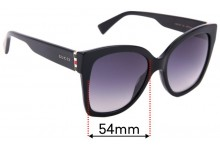 Sunglass Fix Replacement Lenses for Gucci GG0459/S - 54mm Wide
