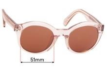Sunglass Fix Sunglass Replacement Lenses for Maui Jim Jasmine MJ738 - 51mm Wide