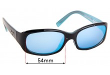 Sunglass Fix Sunglass Replacement Lenses for Maui Jim MJ219 Punchbowl - 54mm Wide