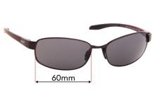 Sunglass Fix Sunglass Replacement Lenses for Maui Jim MJ741 Salt Air - 60mm Wide