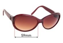 Sunglass Fix Sunglass Replacement Lenses for Michael Kors M2605S - 59mm Wide