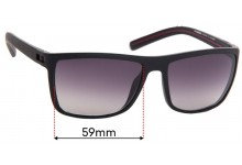 Sunglass Fix Replacement Lenses for Morel Oga 7605O - 59mm Wide