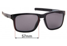 Sunglass Fix Sunglass Replacement Lenses for Oakley Holbrook Mix OO9384 - 57mm Wide