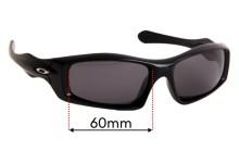 Sunglass Fix Sunglass Replacement Lenses for Oakley Monster Pup OO9029 - 60mm Wide