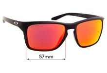 Sunglass Fix Sunglass Replacement Lenses for Oakley Sylas OO9448 - 57mm Wide