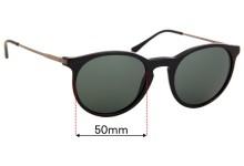 Sunglass Fix Sunglass Replacement Lenses for Ralph Lauren Polo PH 4096 - 50mm Wide