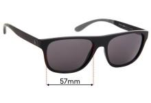 Sunglass Fix Sunglass Replacement Lenses for Ralph Lauren Polo PH 4131 - 57mm Wide