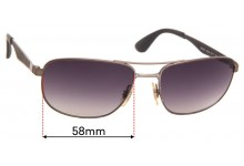 Sunglass Fix Sunglass Replacement Lenses for Ray Ban RB3528 - 58mm Wide
