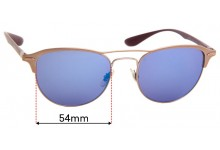 Sunglass Fix Replacement Lenses for Ray Ban RB3596 - 54mm Wide