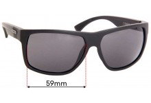 Sunglass Fix Sunglass Replacement Lenses for Rip Curl Stringer - 59mm Wide