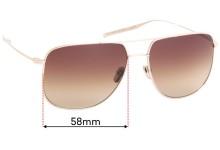 Sunglass Fix Sunglass Replacement Lenses for Salt Odin - 58mm Wide