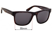 Sunglass Fix Sunglass Replacement Lenses for Shady Rays SE:17 - 55mm Wide