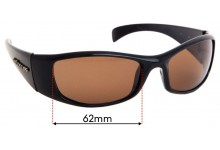 Sunglass Fix Sunglass Replacement Lenses for Spotters Artic - 62mm Wide