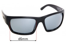 Sunglass Fix Sunglass Replacement Lenses for Spotters Freak - 65mm Wide