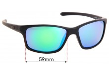 Sunglass Fix Sunglass Replacement Lenses for Spotters Grit Jnr - 59mm Wide