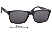 Sunglass Fix Sunglass Replacement Lenses for Tommy Hilfiger TH 1405/S - 56mm Wide