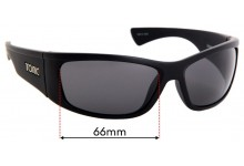 Sunglass Fix Sunglass Replacement Lenses for Tonic Shimmer - 66mm Wide