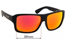 Sunglass Fix Sunglass Replacement Lenses for Tonic Swish - 59mm Wide