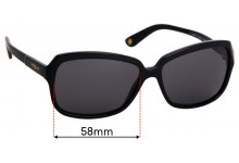 Sunglass Fix Sunglass Replacement Lenses for Vogue VO2660-S - 58mm Wide
