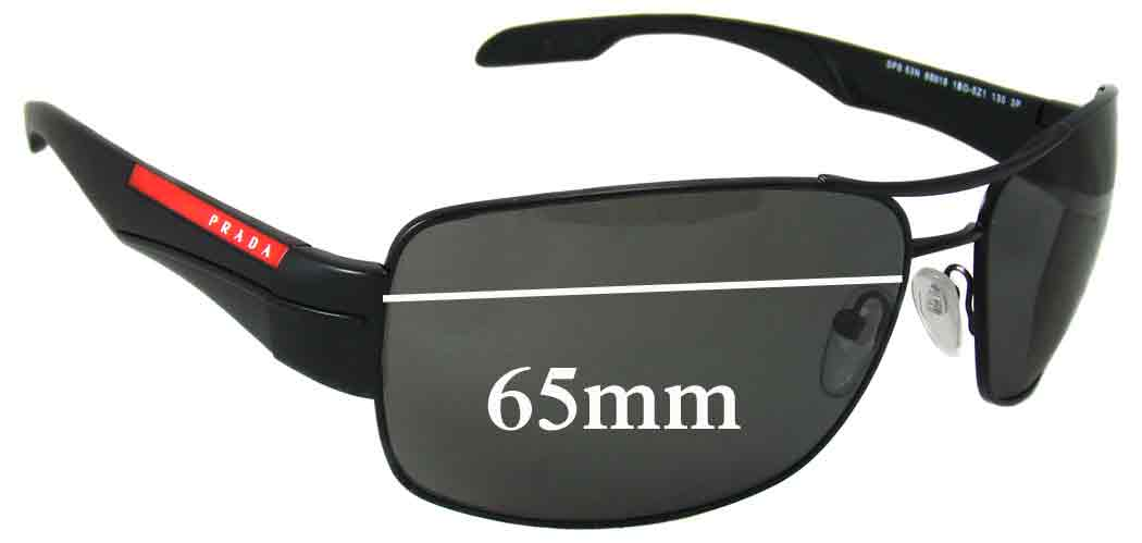 SFX Replacement Sunglass Lenses fits Bolle Anaconda Newer Style Rounded rectang